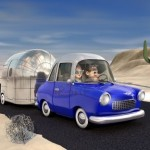 7060341-a-cartoon-image-of-a-couple-driving-in-the-deset-towing-a-camper-trailer